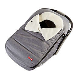 SkipHopR Stroll Go Car Seat Cover In Heather Grey