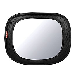 SKIP*HOP Style Driven Backseat Mirror in Tonal Chevron