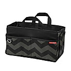 SKIP*HOP® Car Storage Box in Tonal Chevron