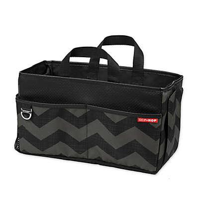 SKIP*HOP® Car Storage Box in Tonal Chevron
