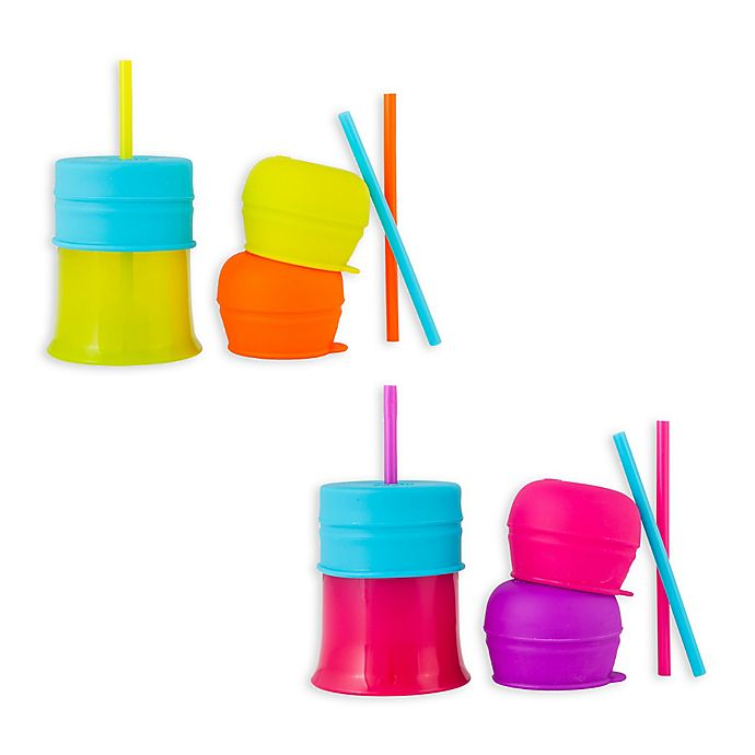 Alternate image 1 for Boon® SNUG 3-Pack Straw and Cups