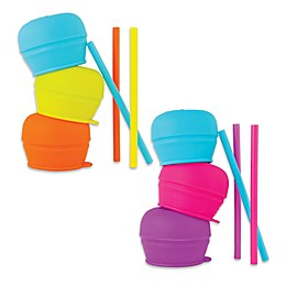 Boon Snug 3-Pack Cup Lids with Straws