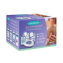 Lansinoh® Smartpump™ Double Electric Breast Pump in Purple/White