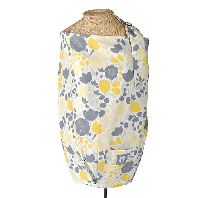 Dr Sears Balboa Baby 174 Nursing Cover In Yellow Tulip