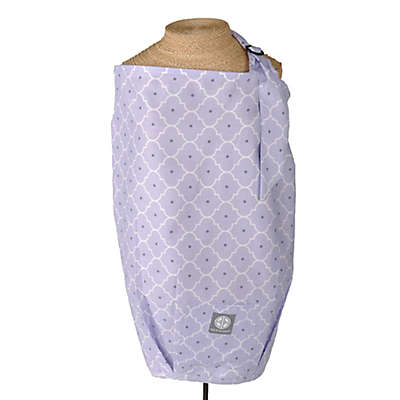 Dr. Sears Balboa Baby® Nursing Cover in Lavender Trellis