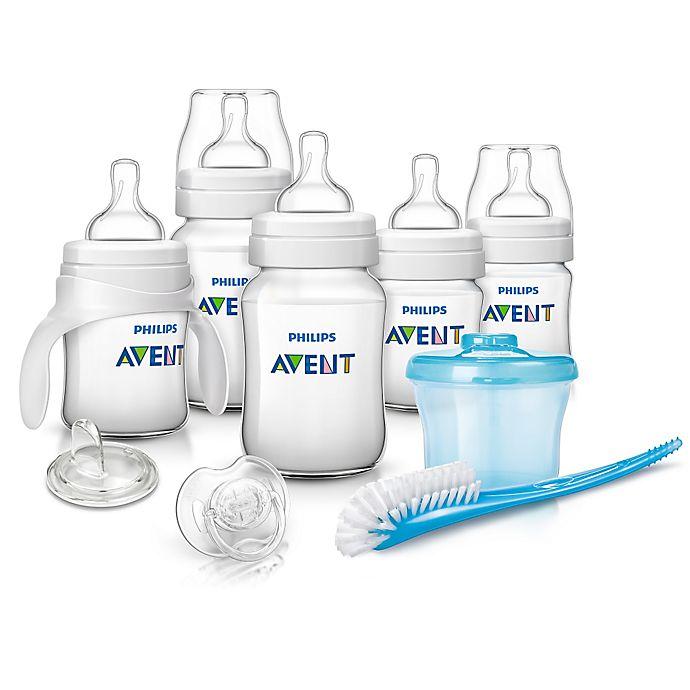 Alternate image 1 for Philips Avent Anti-Colic Newborn Starter Set in Blue