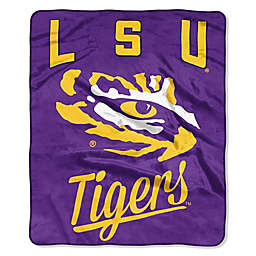 Louisiana State University Raschel Throw