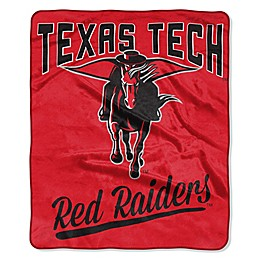 Texas Tech University Raschel Throw Blanket