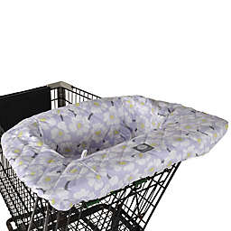 Balboa Baby® Shopping Cart and High Chair Cover in Lavender Poppy