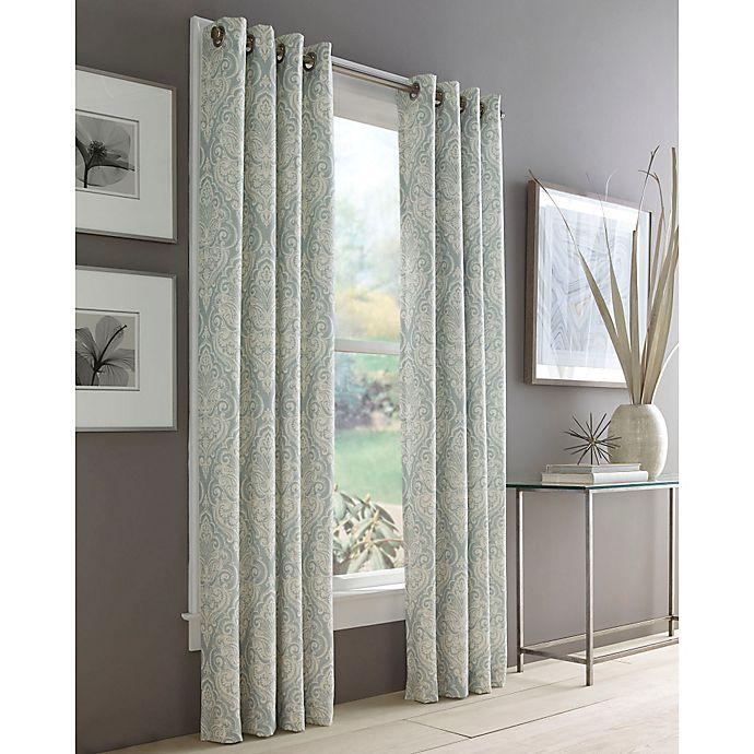 Alternate image 1 for J. Queen New York™ Roosevelt Grommet Top Window Curtain Panel