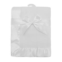 TL Care® Fleece Blanket with Satin Trim