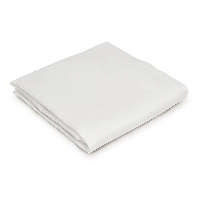 Alternate image 1 for Naturepedic® Stokke® Sleepi™ Mini Fitted Crib Sheet in White