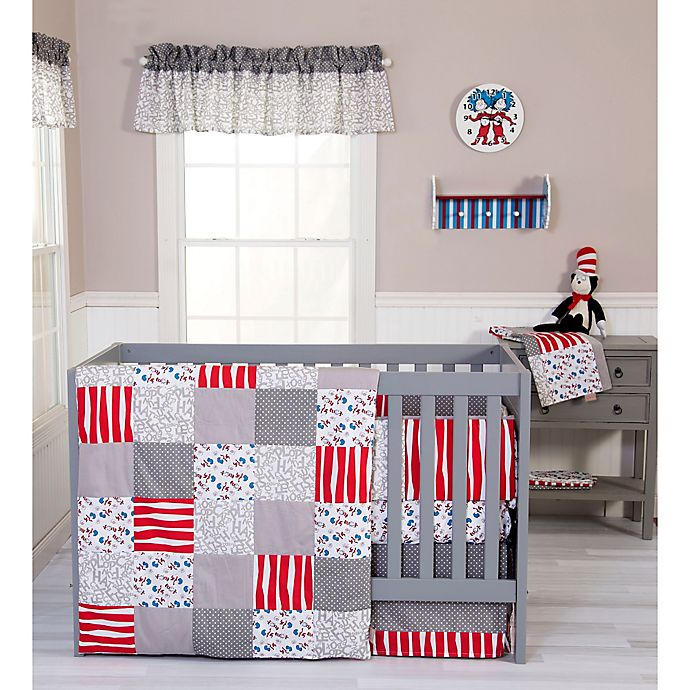 Dr Seuss Cat And Things 3 Piece Crib