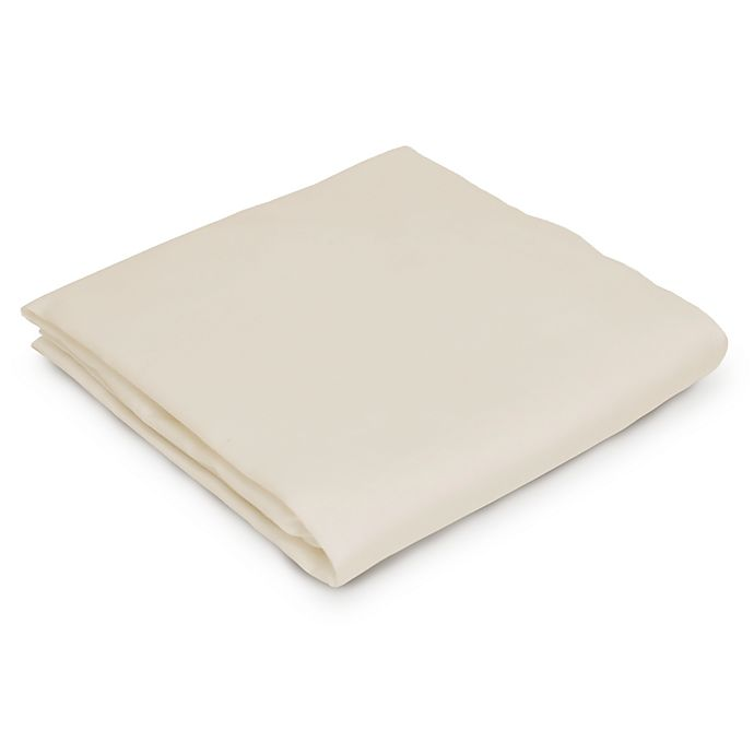 Alternate image 1 for Naturepedic® Organic Cotton Fitted Cradle Sheet in Ivory