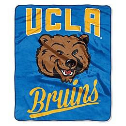 UCLA Raschel Throw Blanket
