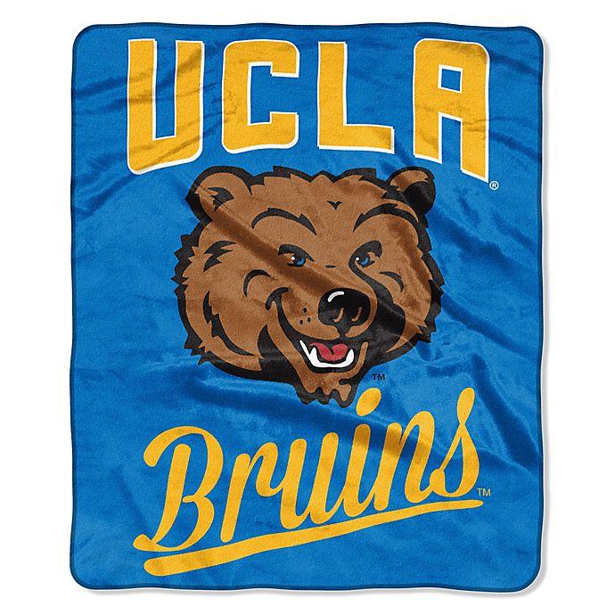 Alternate image 1 for UCLA Raschel Throw Blanket