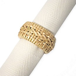 Kemp & Beatley Cane Napkin Ring