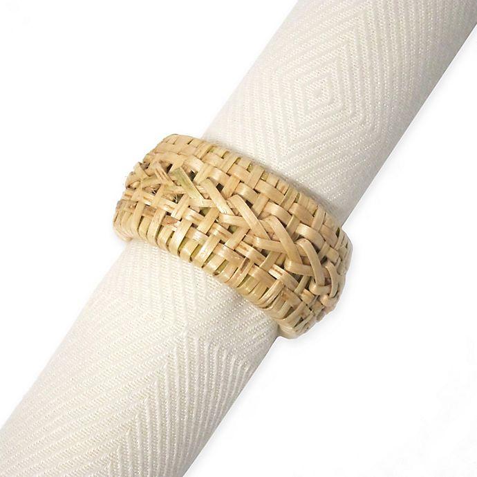 Alternate image 1 for Kemp & Beatley Cane Napkin Ring