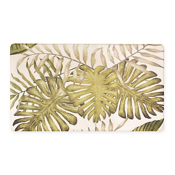Tropical 18-Inch x 30-Inch Cushioned Kitchen Rug | Bed Bath ...