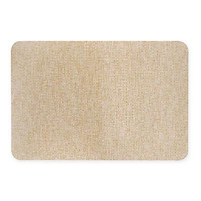 Kitchen 18-Inch x 30-Inch Cushion Rug in Natural