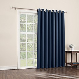 Sun Zero® Mariah 84-Inch Room-Darkening Extra-Wide Grommet Patio Door Panel
