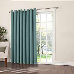 Sun Zero Bella 84-Inch Room-Darkening Extra-Wide Grommet Patio Door Panel