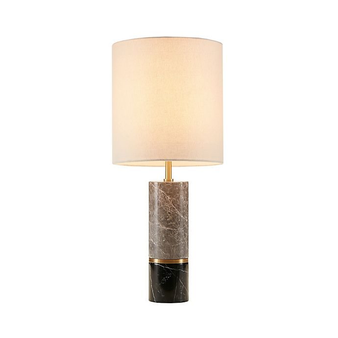 Alternate image 1 for Madison Park Signature Weller Table Lamp in Black/Grey