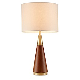 Ink+Ivy Chrislie Table Lamp in Gold/Brown