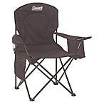 Coleman Oversized Quad Chair with Cooler in Black