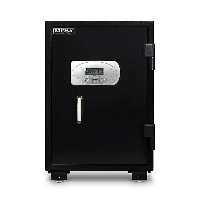 Alternate image 1 for Mesa Safe Company MF75E 2.1-Cubic Foot U.L. Classified Fire Safe with Electronic Lock in Black