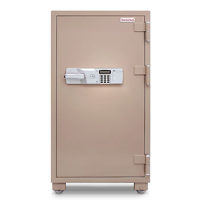 Alternate image 1 for Mesa Safe MFS120E 2-Hour Fire Resistant Electronic Lock Commercial Safe in Tan