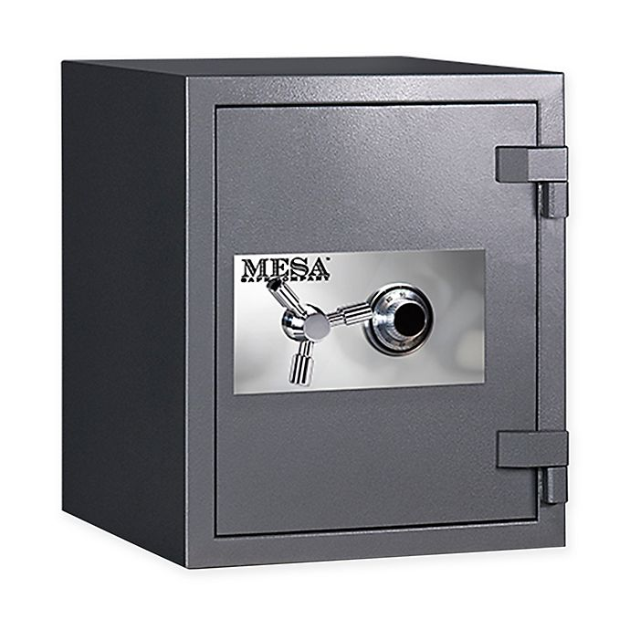 Alternate image 1 for Mesa Safe Company 2-Hour Fire-Resistant Mechanical Lock High Security Safe in Light Grey