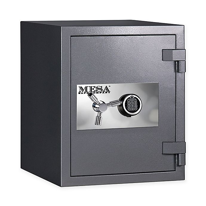 Alternate image 1 for Mesa Safe Company MSC2520E 2-Hour Fire-Resistant Electronic Lock High Security Safe in Grey