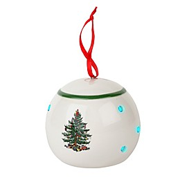 Spode® Christmas Tree LED Bauble Ornament