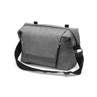 Stokke® Stroller Changing Bag V2 in Black Melange | buybuy ...