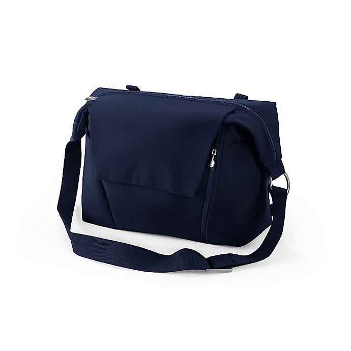 Alternate image 1 for Stokke® Stroller Changing Bag V2 in Blue