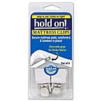 hold on!™ Mattress Clips (Set of 4)