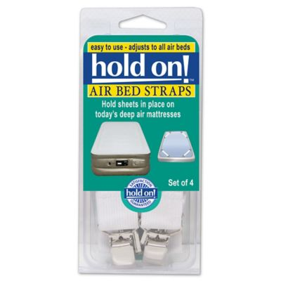 Hold On Air Bed Straps Set Of 4 Bed Bath Amp Beyond