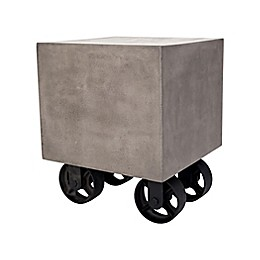 Dimond Home Jigger Side Table in Brown