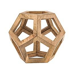 Dimond Lighting Wooden Honeycomb Orb