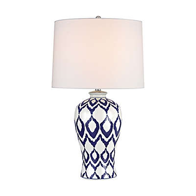 Dimond Kew Table Lamp in Blue and White