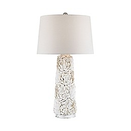 Dimond Lighting Windley Table Lamp in Natural with Fabric Shade