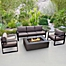Part of the Real Flame® Baltic Outdoor Patio Furniture and Accessory Collection