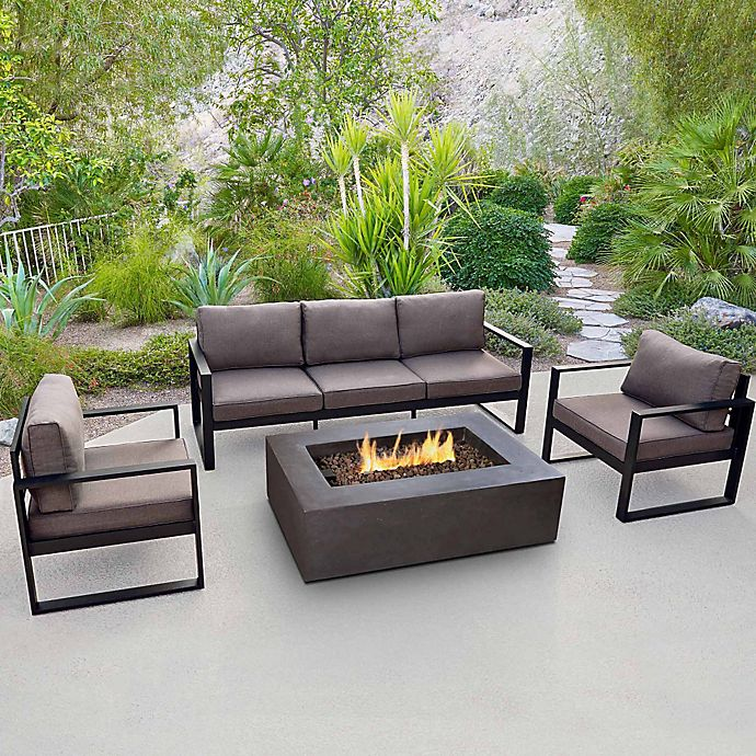 Real Flame Baltic Outdoor Patio Furniture And Accessory Collection Bed Bath Beyond