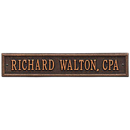 Whitehall Products 15-Inch Arch Extension Address Plaque