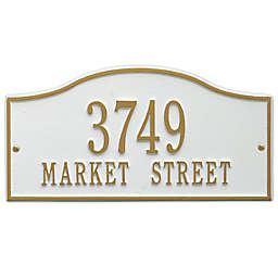Whitehall Products Rolling Hills Standard Wall Address Plaque