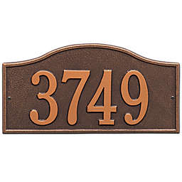 Whitehall Products Rolling Hills House Numbers Plaque