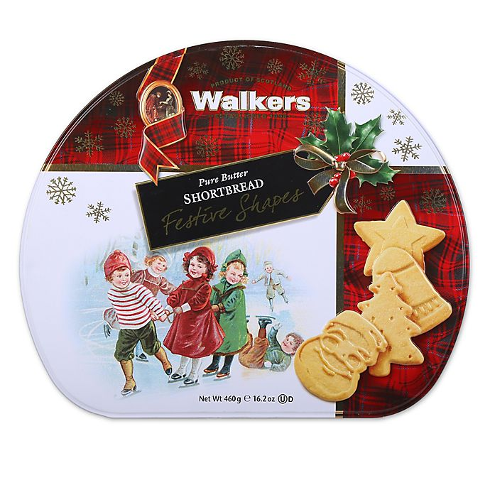Walkers Shortbread Festive 16 2 Oz Shape Tin Bed Bath Beyond