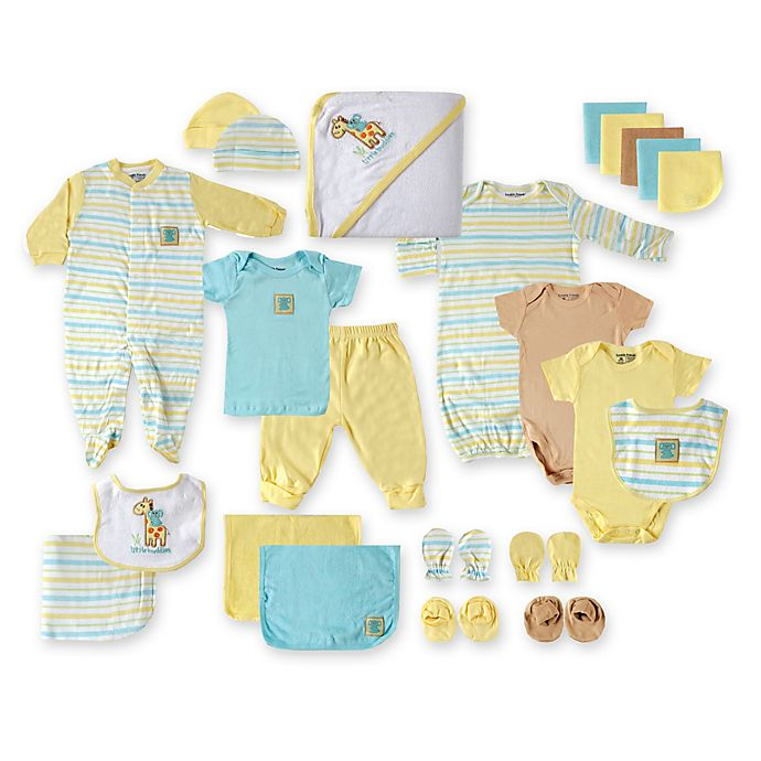 Alternate image 1 for Baby Vision® Luvable Friends 24-Piece Deluxe Gift Cube in Yellow