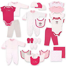 Baby Vision® Luvable Friends® 24-Piece Deluxe Pink Elephant Gift Cube